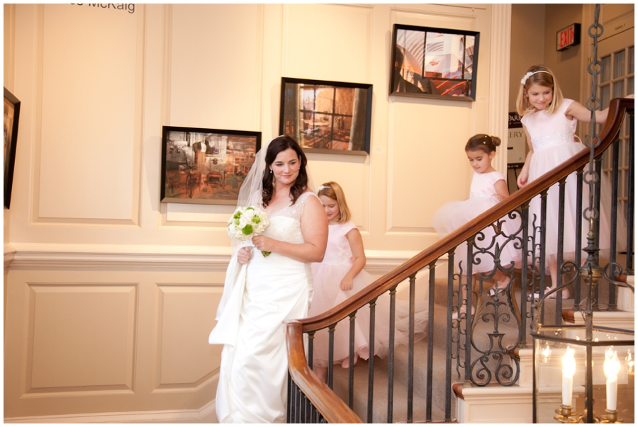Ann Taylor Bridal Dress - Strathmore Mansion Photographer