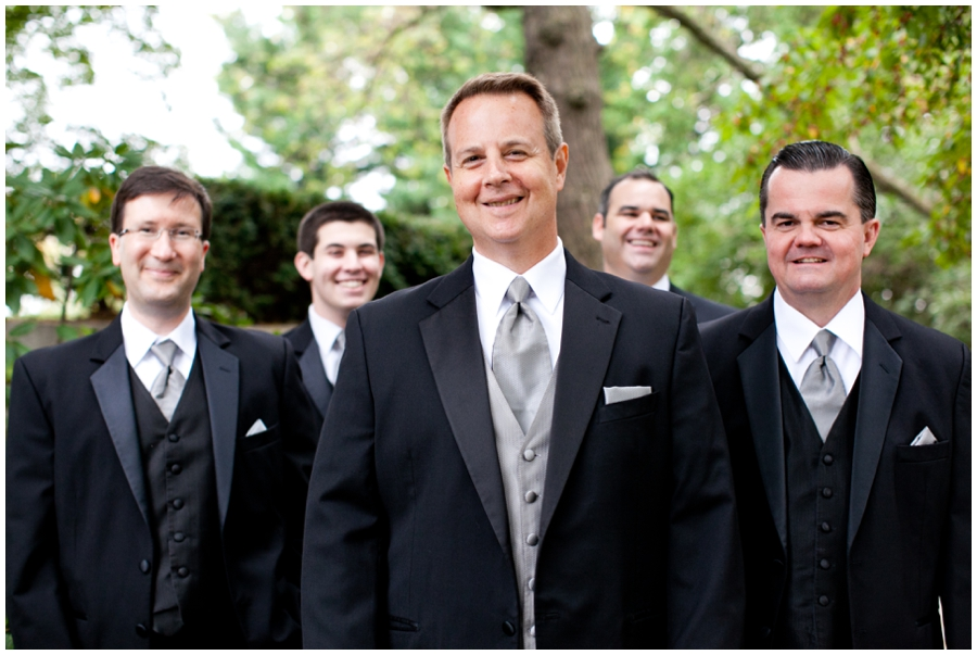 Wedding Party Photograph - The Mansion at Strathmore Wedding Photographer