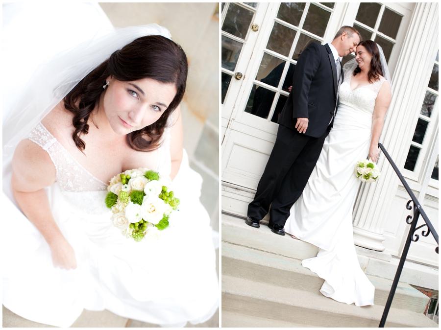 The Mansion at Strathmore Wedding Photographer - Sunset Wedding couple Photograph