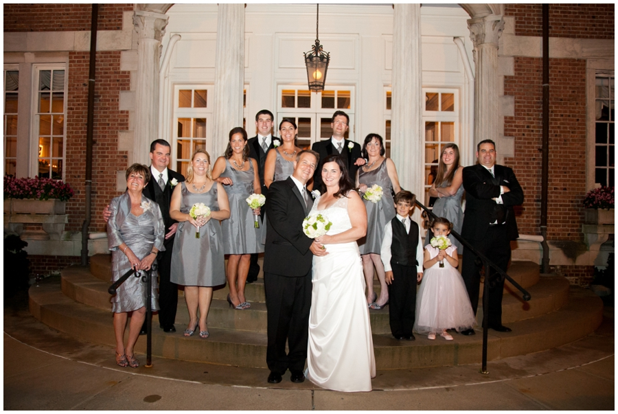 The Mansion at Strathmore Wedding Photographer - Wedding Party Photograph