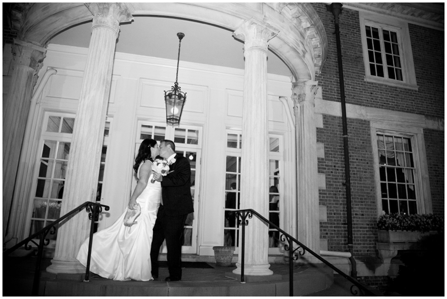 The Mansion at Strathmore Wedding Photographer - Mansion Wedding Couple Photograph