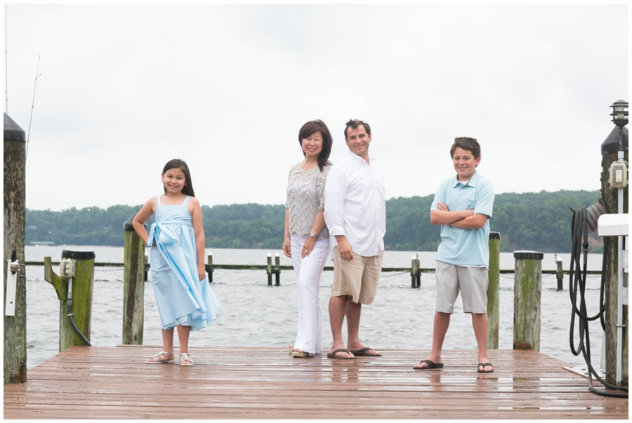 Severn River Family - Waterfront Lifestyle Family Portrait