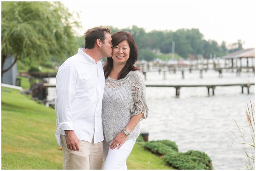 Severn River Love Portrait - Crownsvile Family Photographer