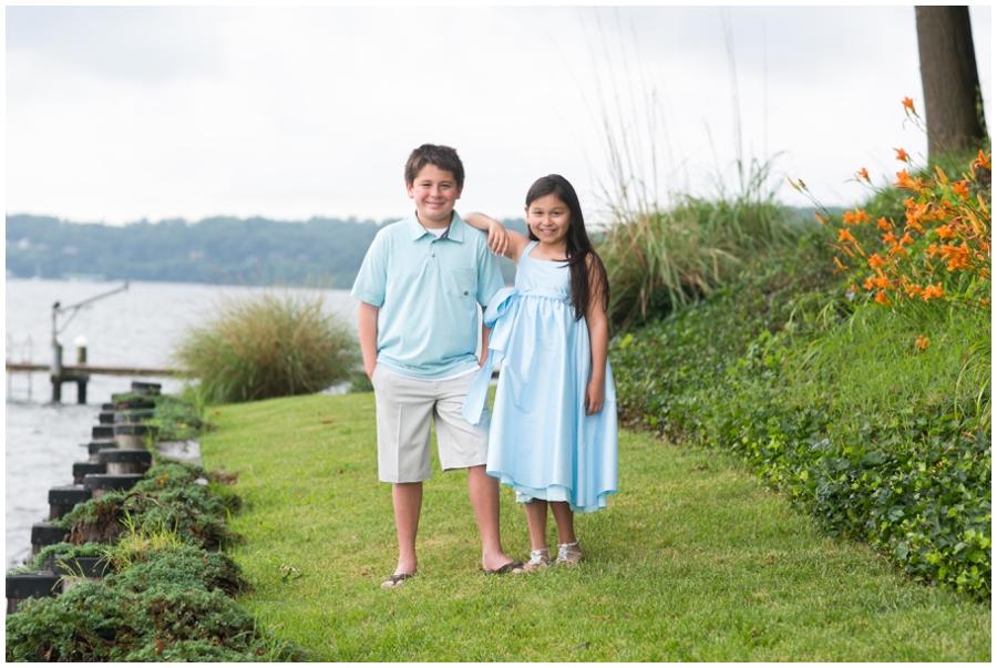 Severn River Family Portrait - Crownsvile Child Photographer