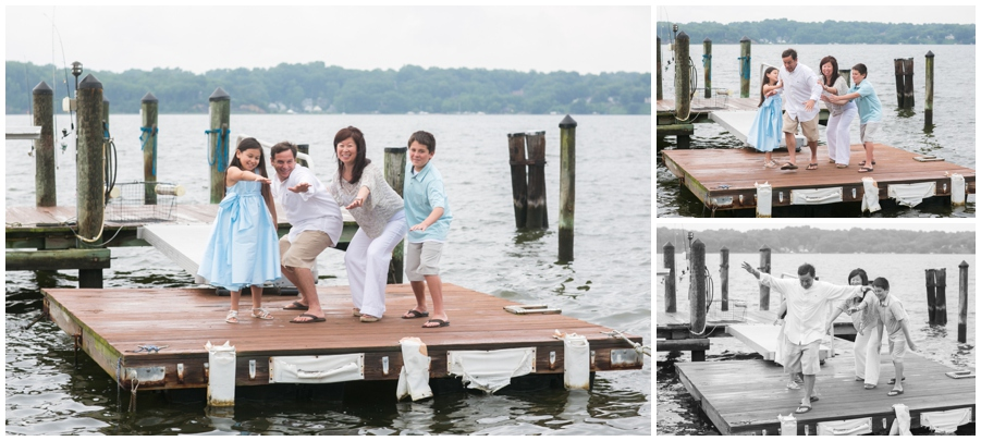 Severn River Family Portrait - Playful Crownsvile Family Photographer
