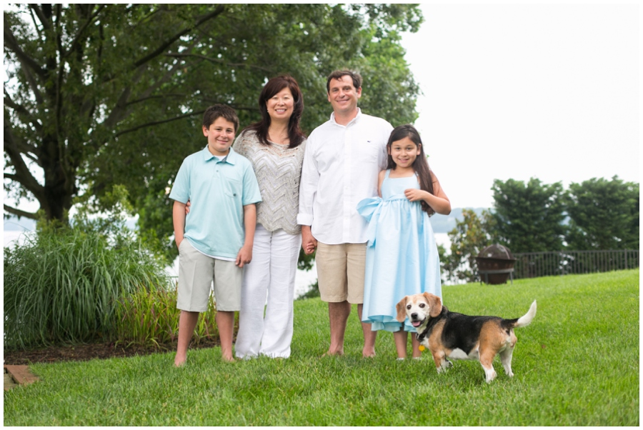 Severn River Family Portrait - Crownsvile Family Photographer