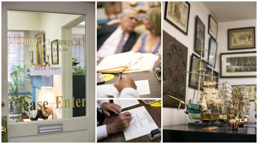 Arlington VA Elopement photographs - Leighton & Tereza - Fitzhugh Lee Godwin, Jr Arlington Circuit Court