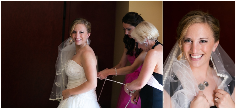 Downtown Baltimore Wedding Photographer - Pier 5 Hotel Getting Ready photographs