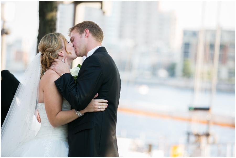 Downtown Baltimore Wedding Photographer - Pier 5 Lighthouse Garden Ceremony