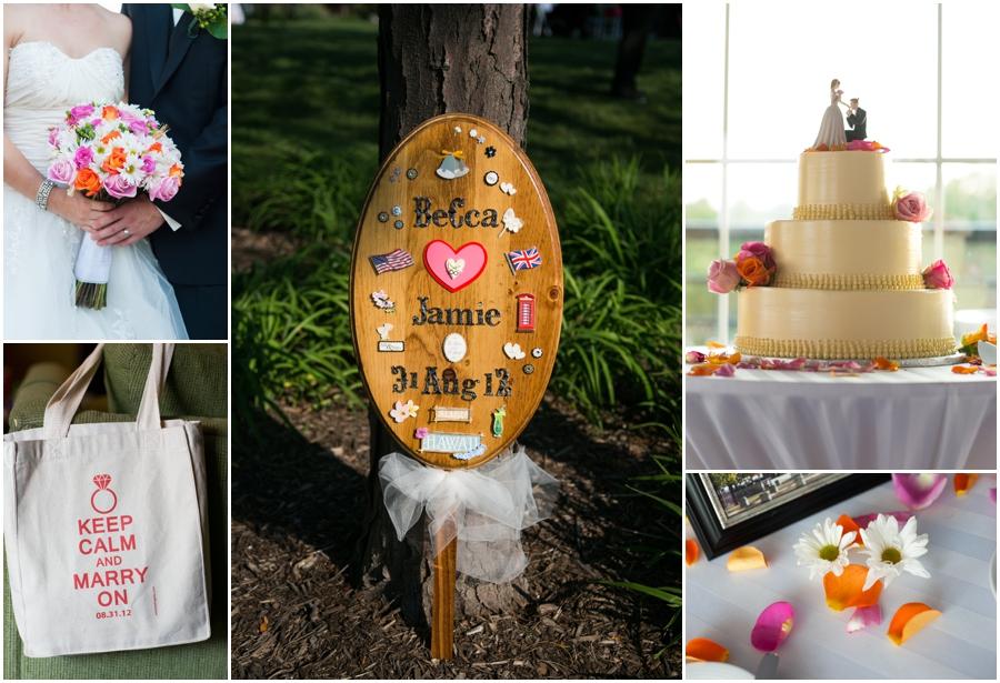 Downtown Baltimore Wedding Photographer - Pier 5 Hotel Bridal Details - Sugar Bakers Cake
