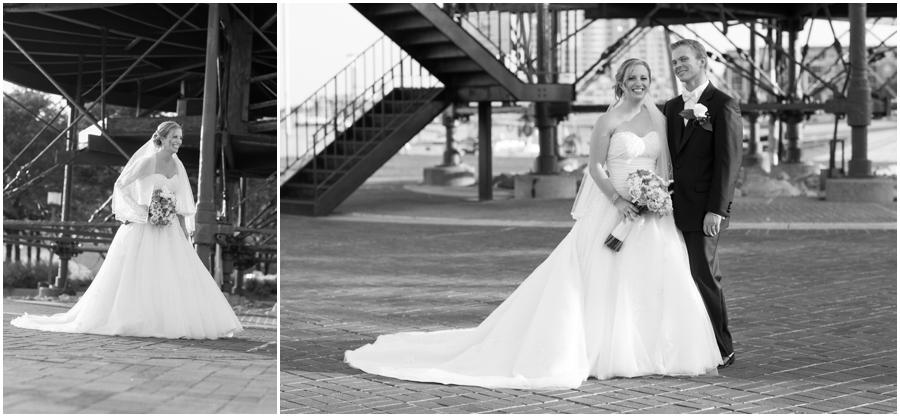 Inner Harbor Baltimore Wedding Photographer - Pier 5 Hotel Wedding Portrait