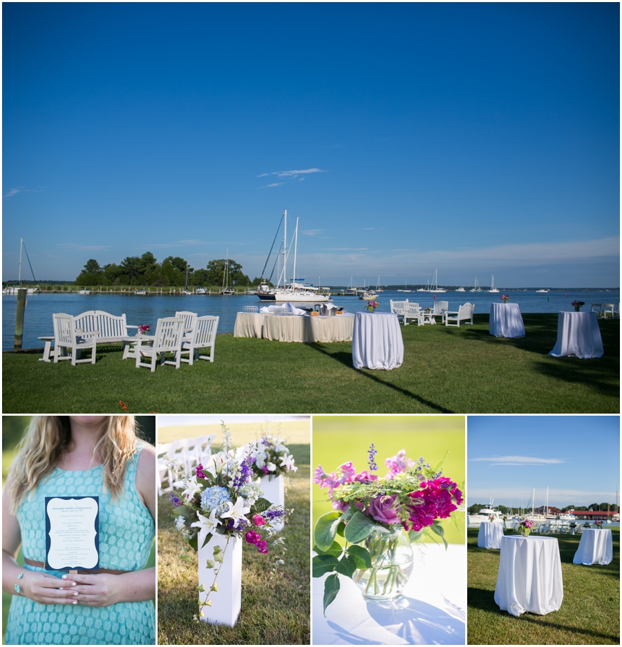 Inn at Perry Cabin Wedding Photographer - Waterfront Wedding Details