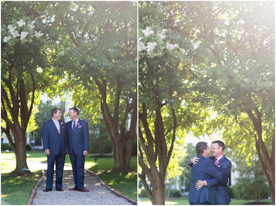 August wedding portrait - Inn at Perry Cabin Wedding Photographer - Summer Wedding