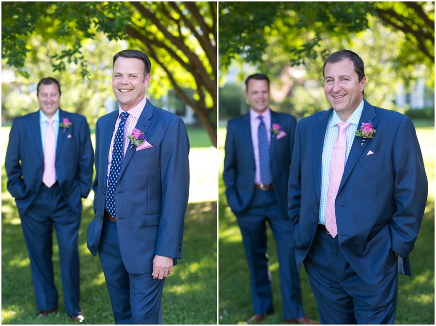 August grooms portrait - Inn at Perry Cabin Wedding Photographer - Summer Wedding