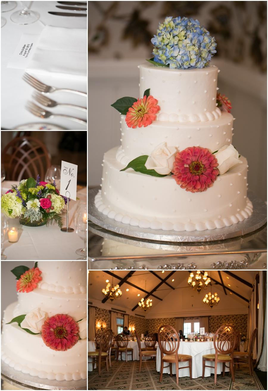 Inn at Perry Cabin Wedding Photographer - Summer Wedding Reception