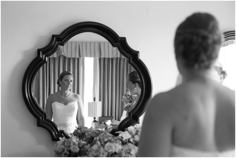 Getting Ready - Bridal Portrait - The Tidewater Inn Hotel