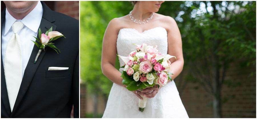 Summer Wedding Details - Watters Wedding Dress - The Tidewater Inn Wedding