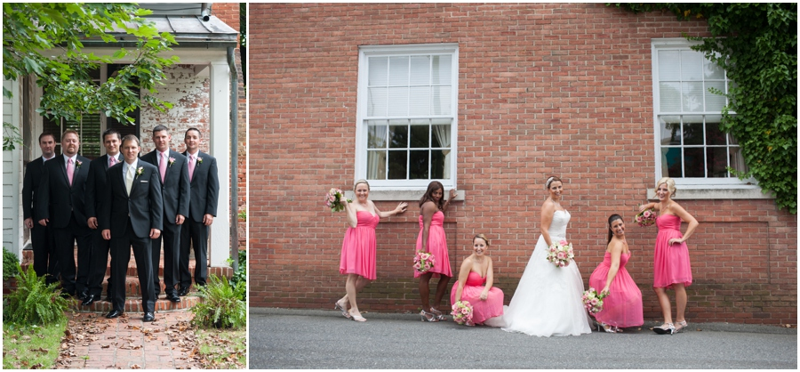 Summer Wedding Details - Watters Wedding Dress - Pink Bridesmaid Dress - The Tidewater Inn Wedding Party