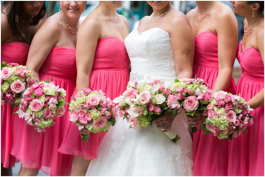 Summer Wedding Portrait - Eastern Shore Wedding Photographer - The Tidewater Inn