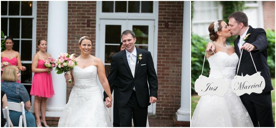 Summer Wedding Ceremony - Eastern Shore Wedding Photographer - The Tidewater Inn Wedding Ceremony