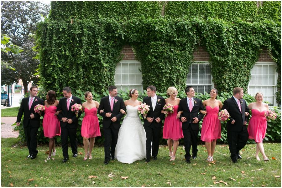 Summer Wedding Party - Eastern Shore Wedding Photographer - The Tidewater Inn Wedding Party