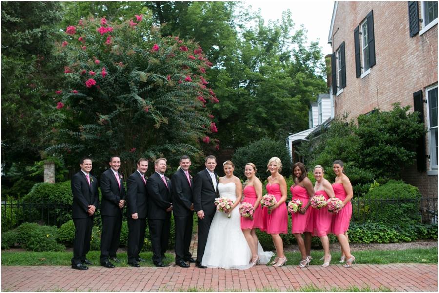 Summer Wedding Party - Eastern Shore Wedding Photographer - Easton MD Wedding Party Photographs