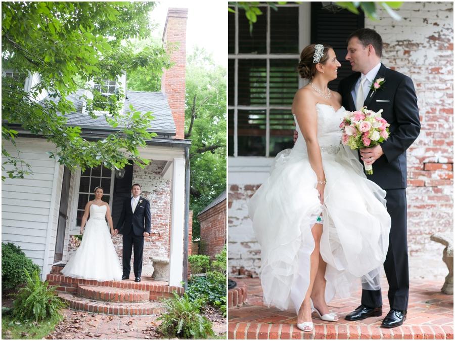 Summer Wedding Portrait - Downtown Easton Wedding Photography - Eastern Shore Wedding Photographer