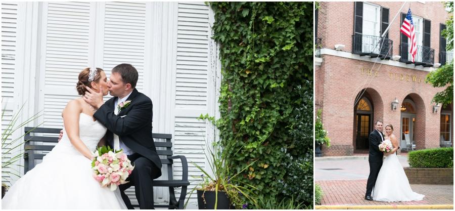 Summer Wedding Portrait - Tidewater Inn Wedding Photography - Eastern Shore Wedding Photographer