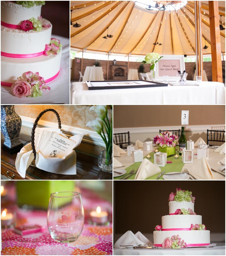 Summer Wedding Reception - Downtown Easton Wedding Photographer - Tidewater Inn Reception Photographs