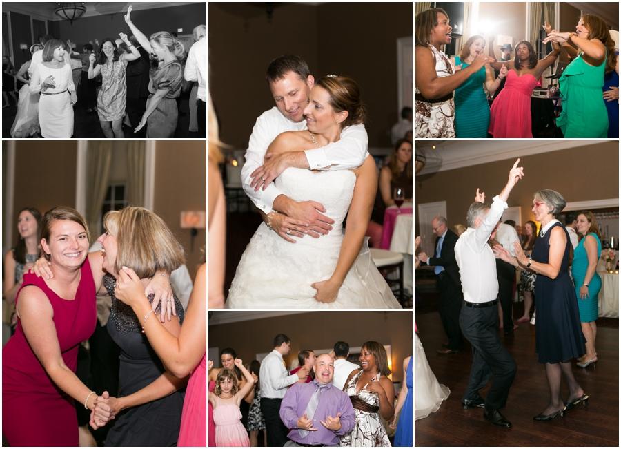Summer Wedding Reception - Grandparents Dance - Tidewater Inn Reception Photographer