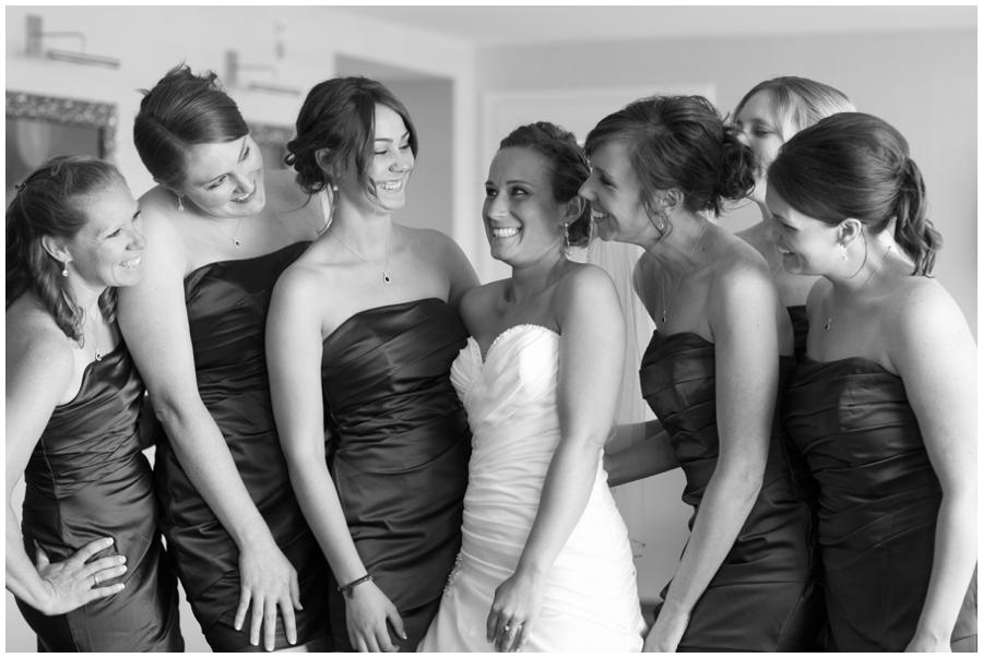 Arlington Wedding Photographer - Capitol View Wedding Getting Ready Bridesmaids