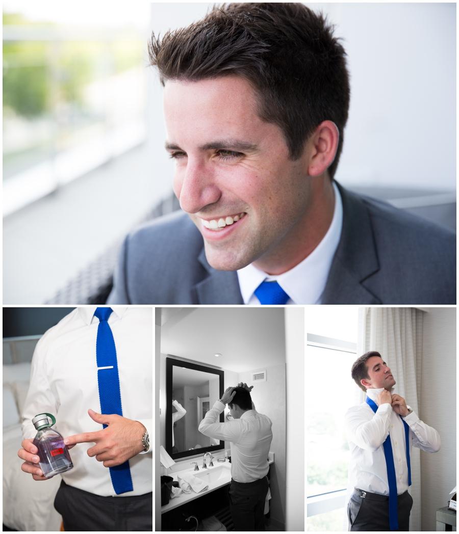 Arlington Wedding Photographer - Capitol View Wedding Getting Ready Groom