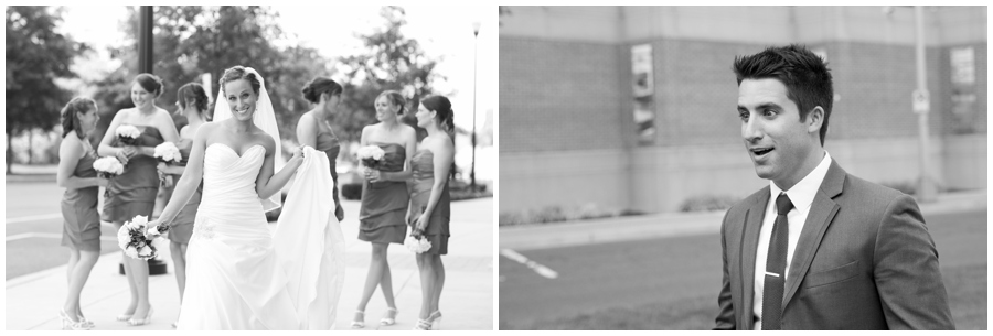 Arlington Wedding Photographer - Cobalt Blue Capitol View Wedding Party