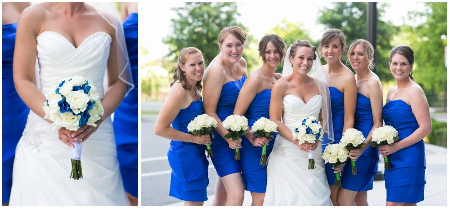Arlington Renaissance Hotel Wedding Photographer - Cobalt Blue Capitol View Bridal Portrait