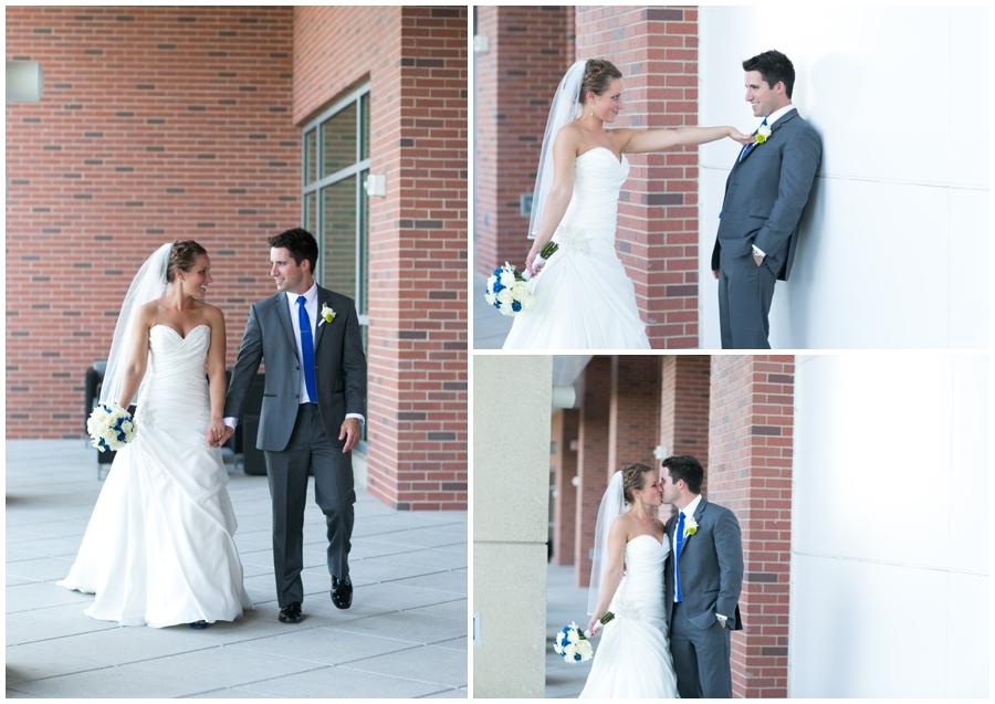 Arlington Renaissance Wedding Photographer - Capitol View Wedding day First Look