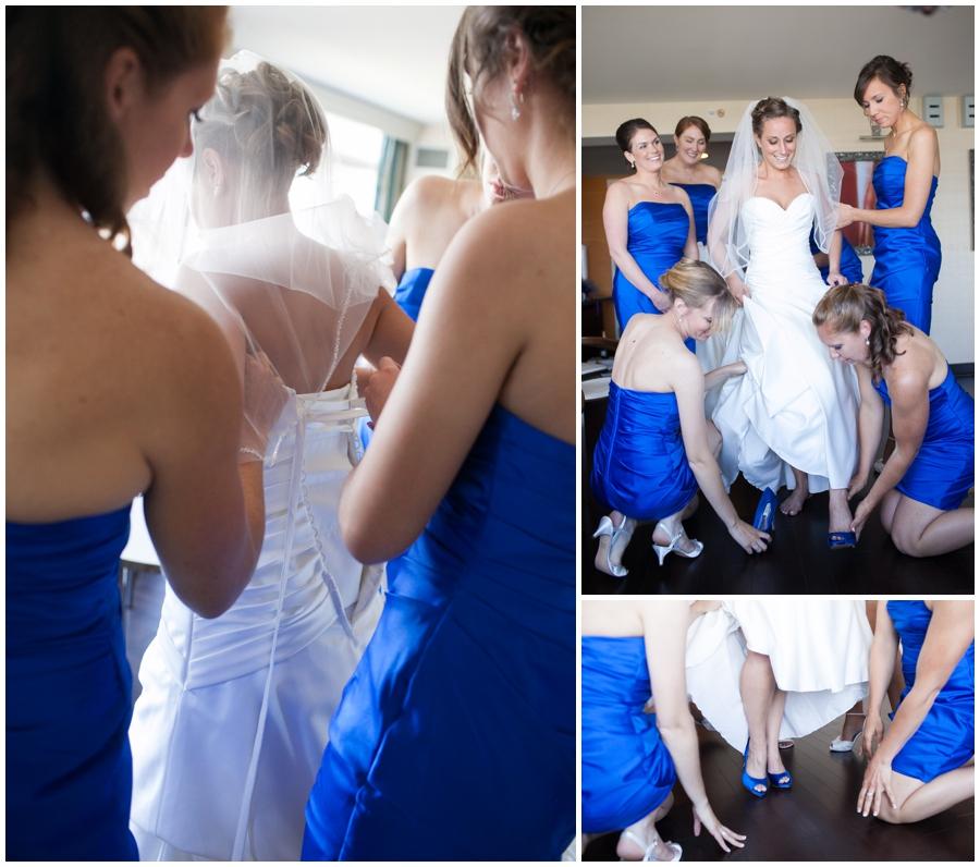 Arlington Renaissance Wedding Photographer - Capitol View Wedding Getting Ready