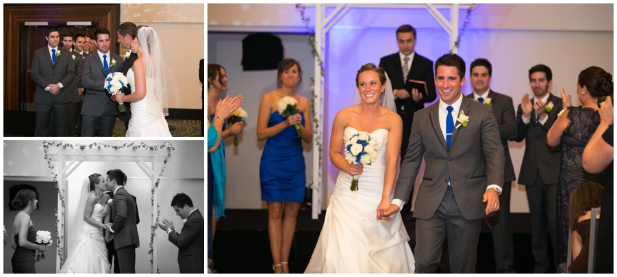 Arlington Renaissance Wedding Ceremony - DC Capitol View Wedding Indoor Ceremony