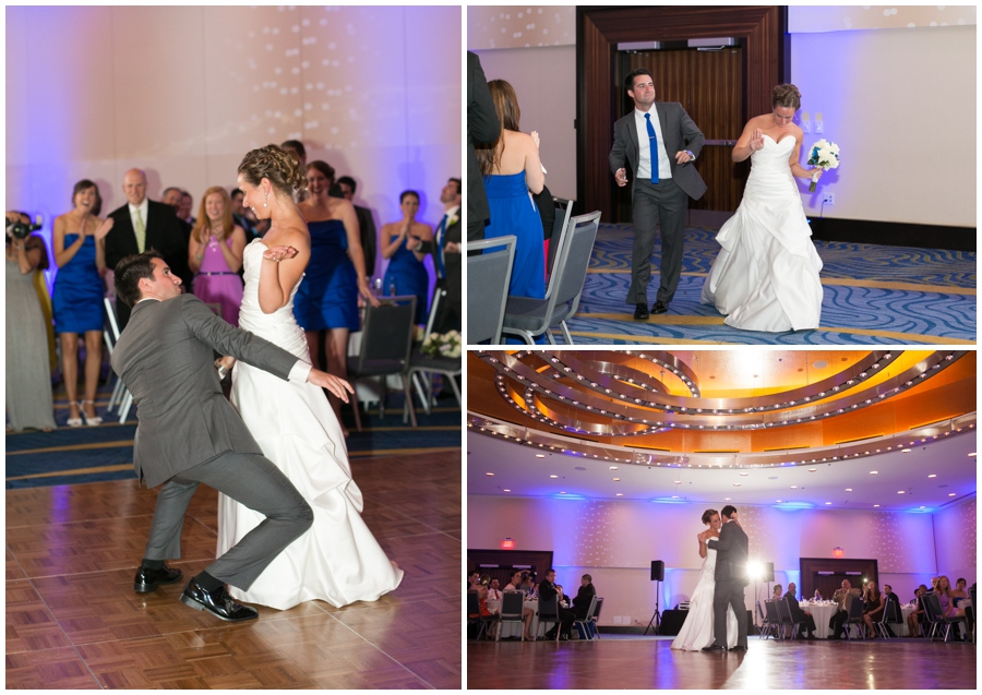 Arlington Renaissance Hotel Reception - DC Capitol View Wedding Reception