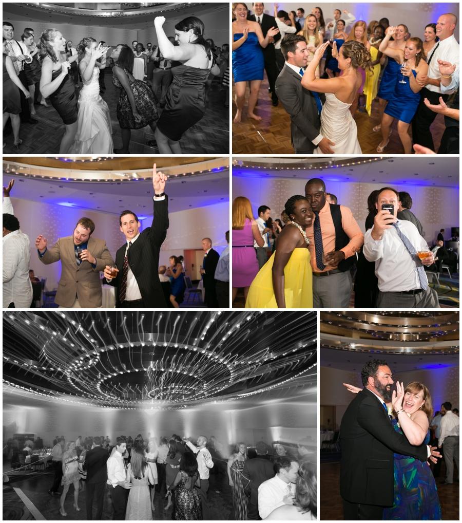 Arlington Renaissance Hotel Reception - DC Capitol View Wedding Reception - Long exposure