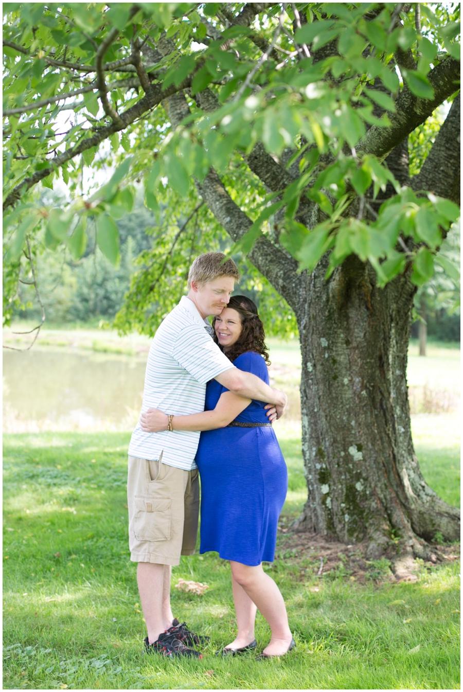 Spring City PA Maternity Photograph - MD Maternity Photographer- summer maternity session