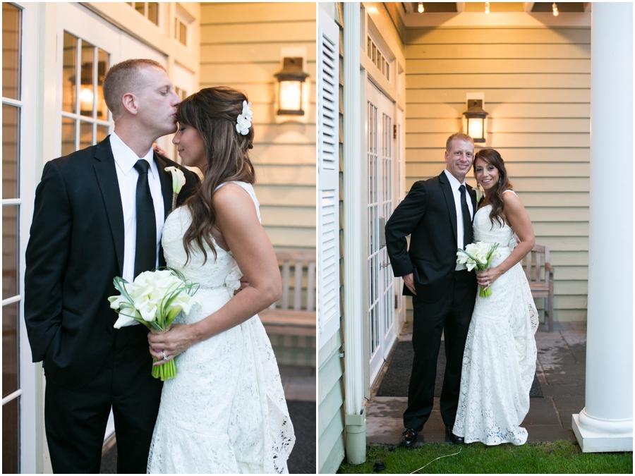 Chesapeake Bay Beach Club Wedding Photographer - Tavern on the Bay Wedding in the Rain