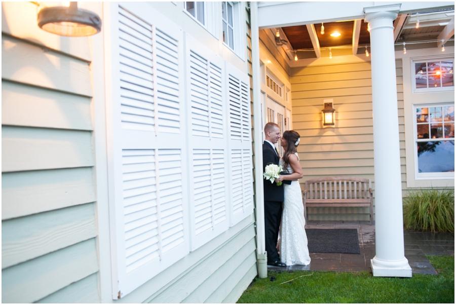 Chesapeake Bay Beach Club Wedding Photographer - Wedding Love Portraits in the Rain