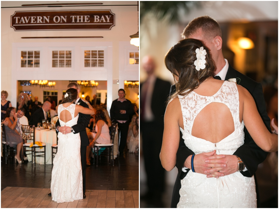 Chesapeake Bay Beach Club Wedding Photographer - Tavern on the Bay Reception