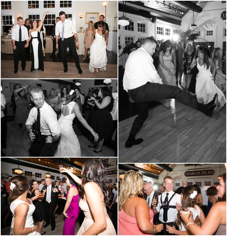 Chesapeake Bay Beach Club Reception Photographer - Candid Dance Photographs