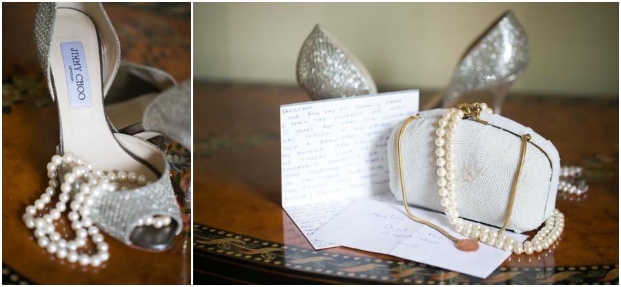 Four Seasons Wedding Photography - Towson Jimmy Choo Bridal Shoe