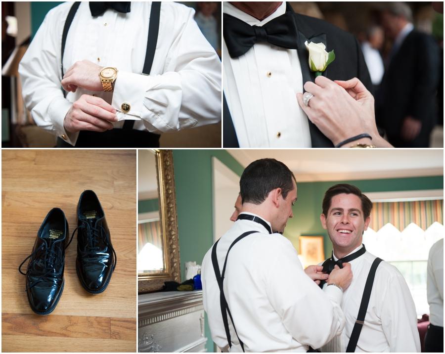Four Seasons Wedding Photography - Towson Getting Ready Tuxedo House