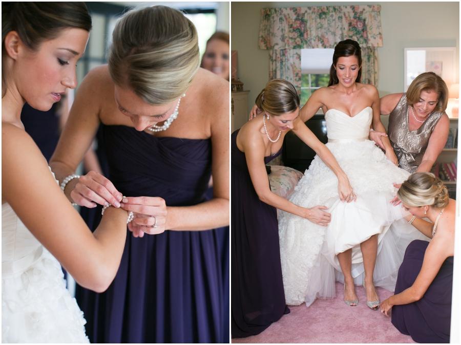 Four Seasons Wedding Photography - Towson Getting Ready