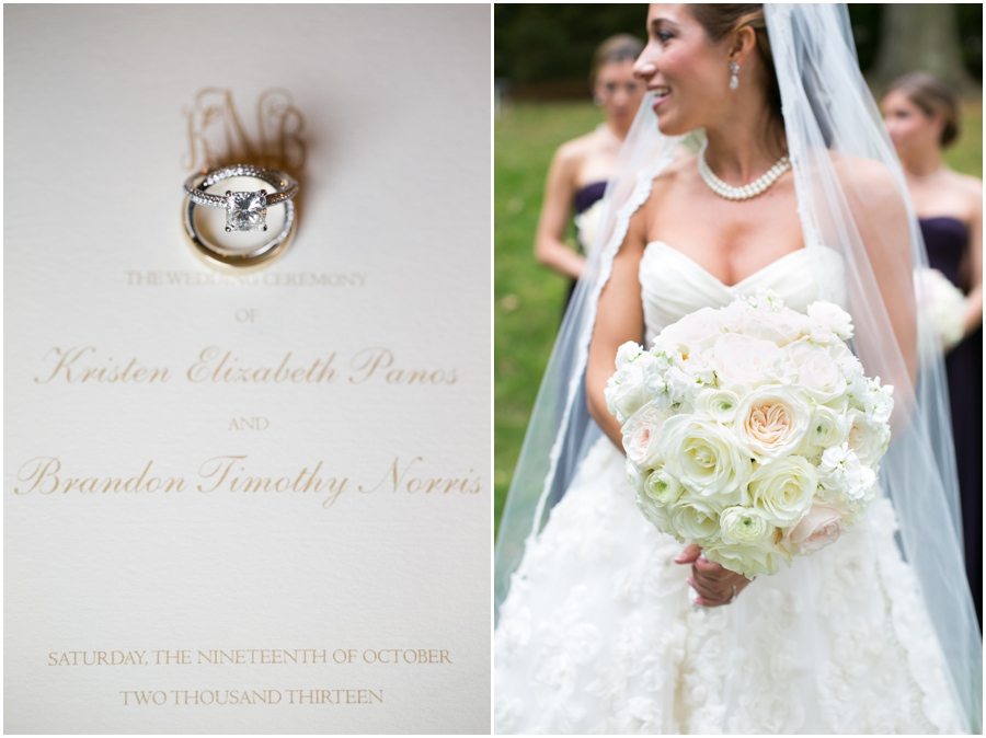 Four Seasons Wedding Photography - Simply Beautiful Flowers - The Pleasure of Your Company Invitation
