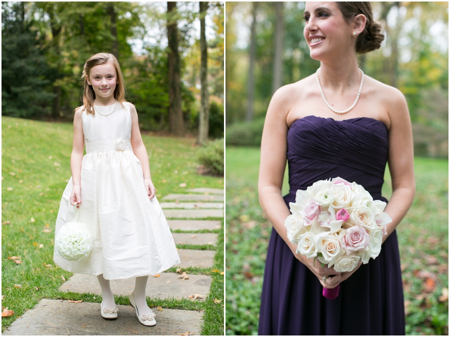 Four Seasons Wedding Photography - Simply Beautiful Flowers - Betsy Robinson Bridesmaid Dress