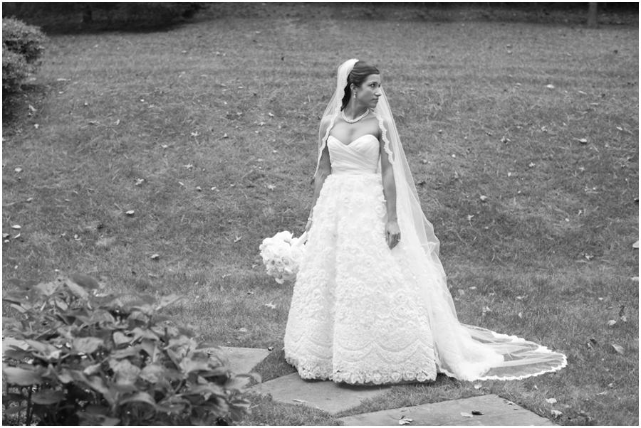 Towson Wedding Photographer - Simply Beautiful Flowers - Betsy Robinson Bridal Portrait